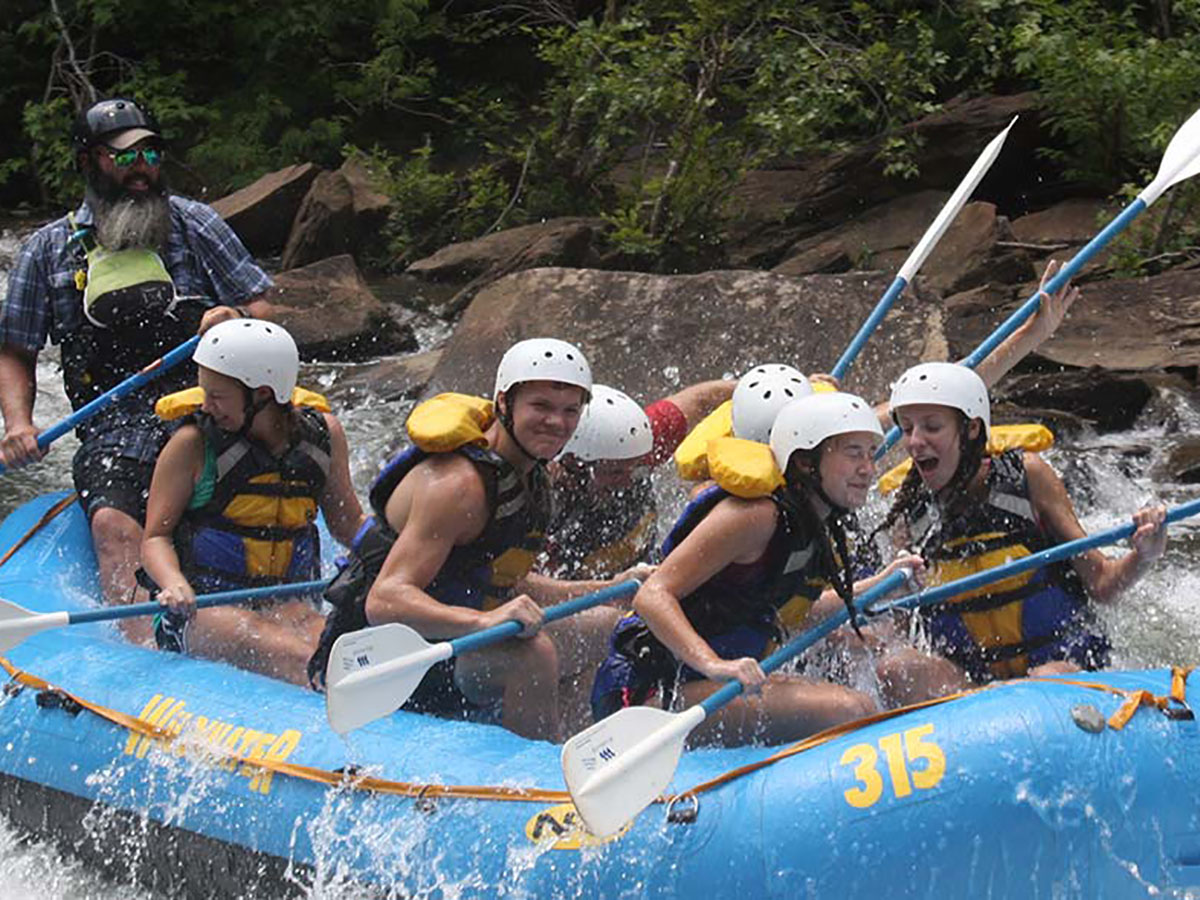 White Water Rafting in Tennessee