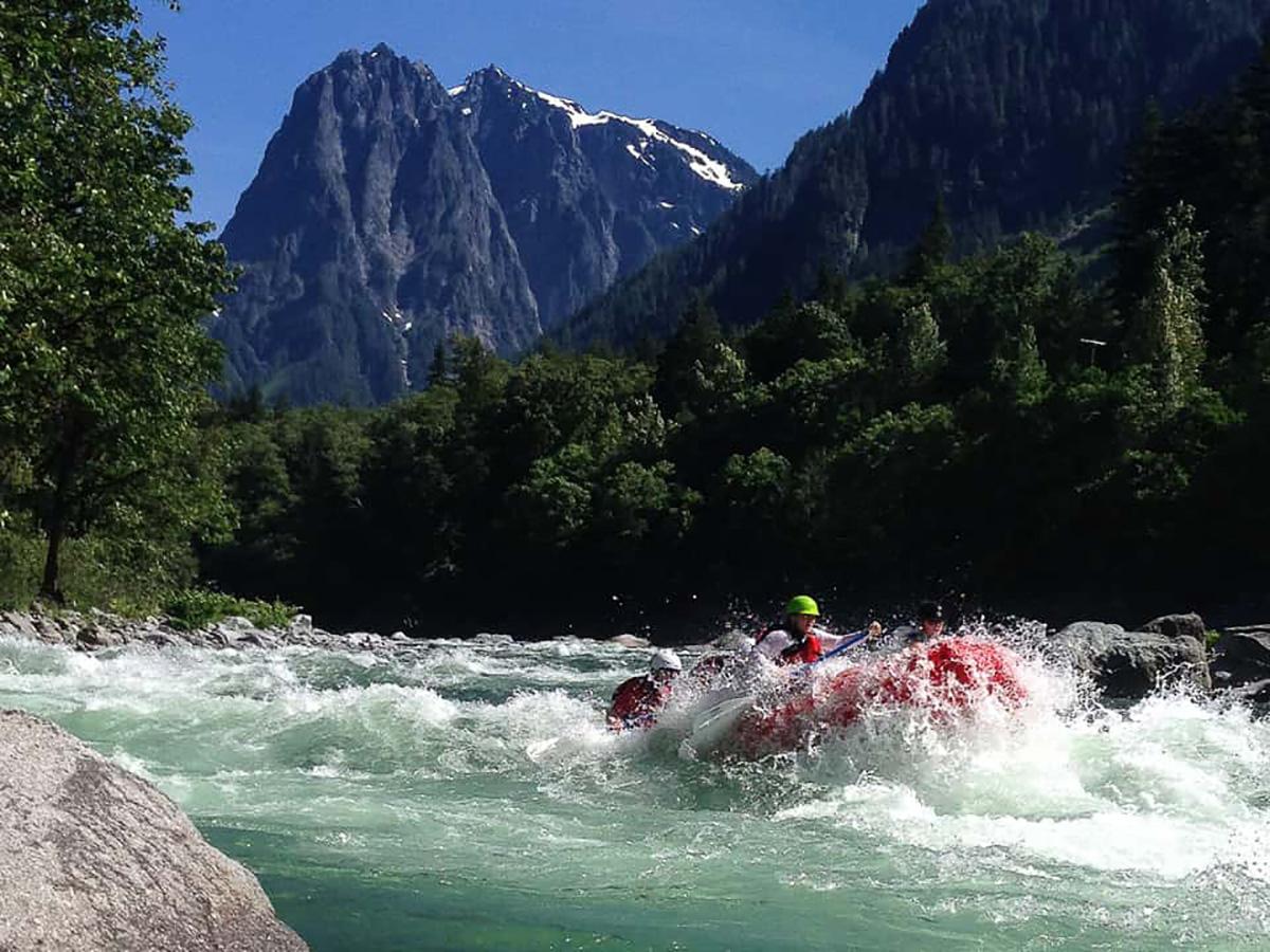 White Water Rafting in Washington