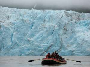 Copper Oar Alaska Glacier Wall