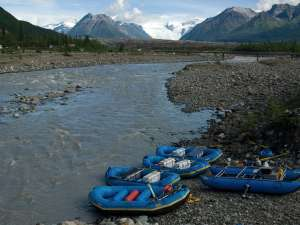 Alaska Rafting & Hiking
