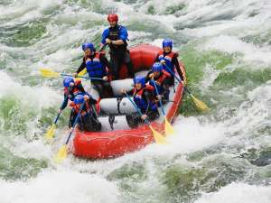 Rafting on the Nahatlatch River