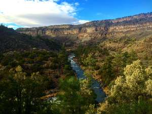wild rivers in New Mexico