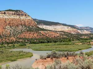Rio Chama in northern New Mexico