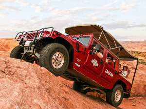 Hummer Safari in Moab