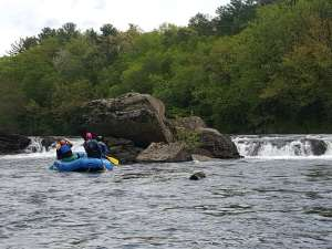 Rafting in New England
