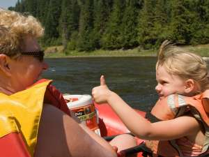 Fun on the Clearwater River