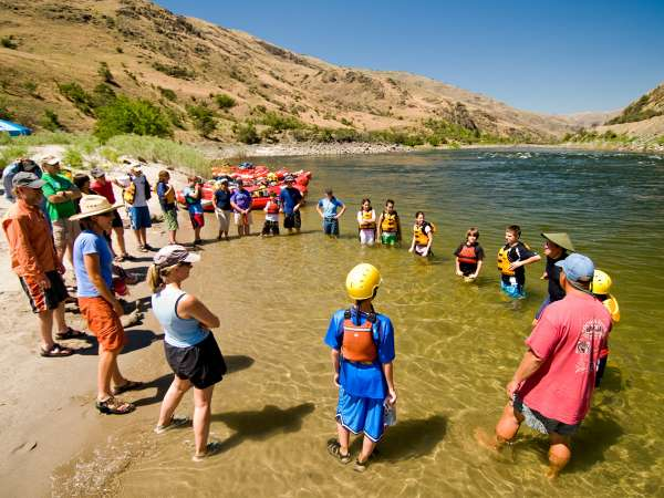 Row Lower Salmon River Rafting Name Games Copy