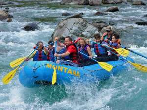 Half Day Rafting Middle Fork Flathead River