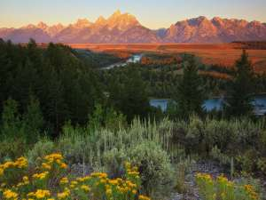 Tetons and Snake River Scenic section