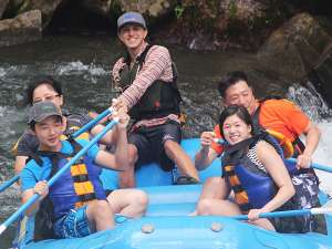 Nantahala River Rafting fun