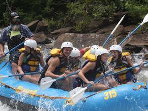 Rafting the Smokies