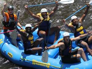 Pigeon River white water rafting