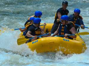 Lower New River Rafting