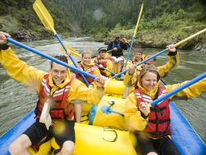 Half Day Rafting on the Rogue River